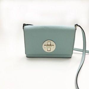 Kate Spade Blue Mini Crossbody Bag